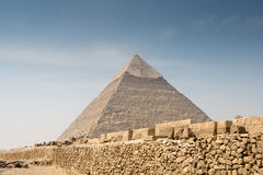 Pyramid of Khafre Royalty Free Stock Photos