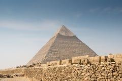 Pyramid of Khafre Royalty Free Stock Photos
