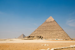 Pyramid of Khafre Stock Photography