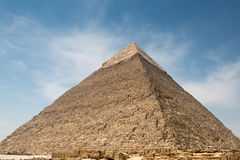 Pyramid of Khafre Stock Photos