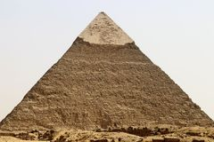 Pyramid of Khafre royalty free stock image