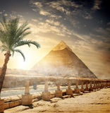 Pyramid of Khafre Stock Image