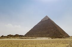 Pyramid of Khafre Stock Photos