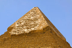 Pyramid Kharfe top Royalty Free Stock Photo
