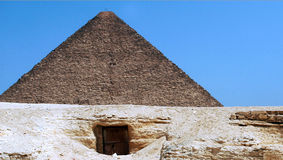 The Pyramid of Khufu Stock Photo