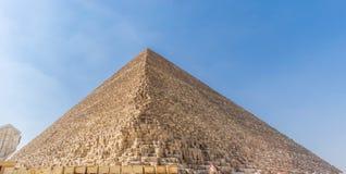 The Pyramid of Khufu, Giza Plateau. The Pyramid of Khufu also known as the Great Pyramid of Giza or the Pyramid of Cheops, Giza Plateau, Egypt. The biggest royalty free stock photo