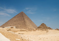 Pyramid of Khufu (Cheops) Royalty Free Stock Photography