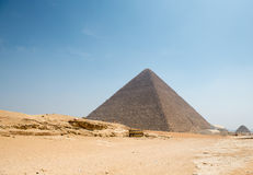 Pyramid of Khufu (Cheops) Stock Photo