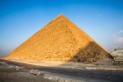Pyramid of khufu Royalty Free Stock Image