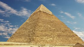Pyramid of Khufu. Zoom. Cairo. Egypt. stock video footage