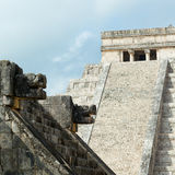 Pyramid of Kukulcan, Chichen Itza Ruins, Yucatan, Mexico Stock Photography