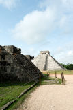 Pyramid of Kukulcan, Chichen Itza Ruins, Yucatan, Mexico Royalty Free Stock Photo