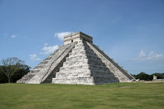 Pyramid of Kukulcan-El Castillo Stock Image