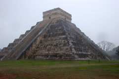 Pyramid of Kukulkan. In Mexico Royalty Free Stock Photo