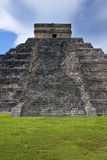 The pyramid of Kukulkan Royalty Free Stock Photo