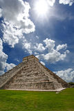 Pyramid Kukulkan, Chichen Itza Royalty Free Stock Images