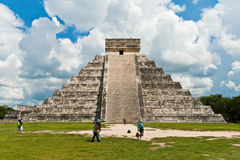 Pyramid of Kukulkan, Chichen Itza Royalty Free Stock Images