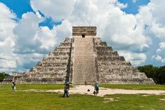 Pyramid of Kukulkan, Chichen Itza Royalty Free Stock Images