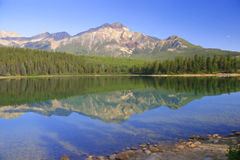 Pyramid Lake Royalty Free Stock Photography