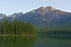 Pyramid Lake Arkivfoto