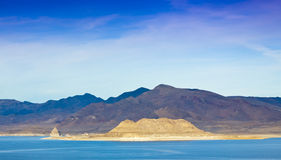 Pyramid Lake Landscape Stock Images