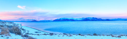Pyramid Lake Royalty Free Stock Images