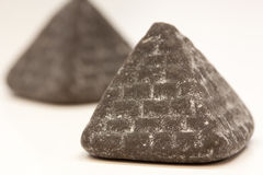 Pyramid liquorice Stock Photo