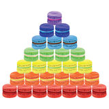 Pyramid of macaroon. Vector illustration Royalty Free Stock Image