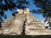 Pyramid Maya Stock Image