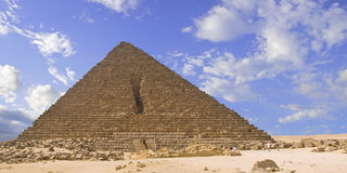Pyramid of Mencaure Royalty Free Stock Photos