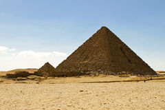 Pyramid Menkaure Stock Image