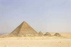 Pyramid of Menkaure Royalty Free Stock Photo