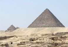 Pyramid of Menkaure Stock Photography