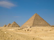 Pyramid of Menkaure Royalty Free Stock Image