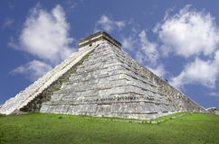 Pyramid, Mexico royalty free stock photos