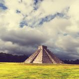 Pyramid in Mexico Royalty Free Stock Photography