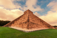 Pyramid in Mexico Stock Photography