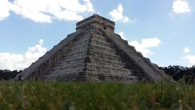 Pyramid in Mexico royalty free stock images
