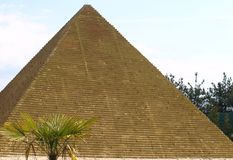 Pyramid miniature Stock Image