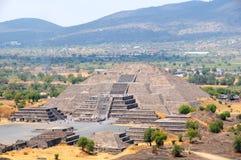 Pyramid Of The Moon, Mexico Royalty Free Stock Image