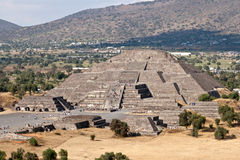 Pyramid of the Moon. Teotihuacan, Stock Photo