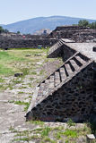 Pyramid of The Moon Teotihuacan Royalty Free Stock Photo