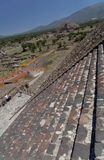 Pyramid of The Moon Teotihuacan Royalty Free Stock Photography