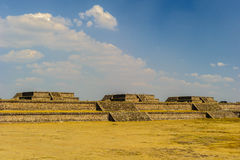 Pyramid of the Moon, Teotihuacan, Mexico Royalty Free Stock Images