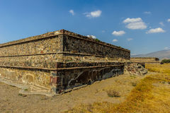 Pyramid of the Moon, Teotihuacan, Mexico Royalty Free Stock Photo