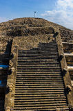 Pyramid of the Moon, Teotihuacan, Mexico Stock Photography