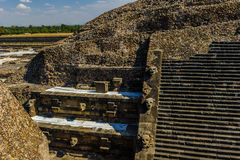 Pyramid of the Moon, Teotihuacan, Mexico Stock Image