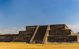 Pyramid of the Moon, Teotihuacan, Mexico Stock Photo