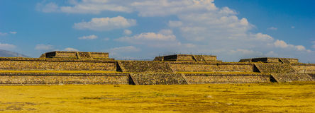 Pyramid of the Moon, Teotihuacan, Mexico Royalty Free Stock Photography