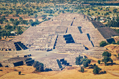 Pyramid of the Moon. Teotihuacan, Mexico Stock Photo